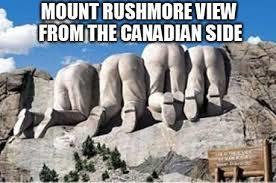 Mt Rushmore Canadian