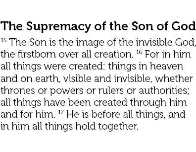 Colossians text