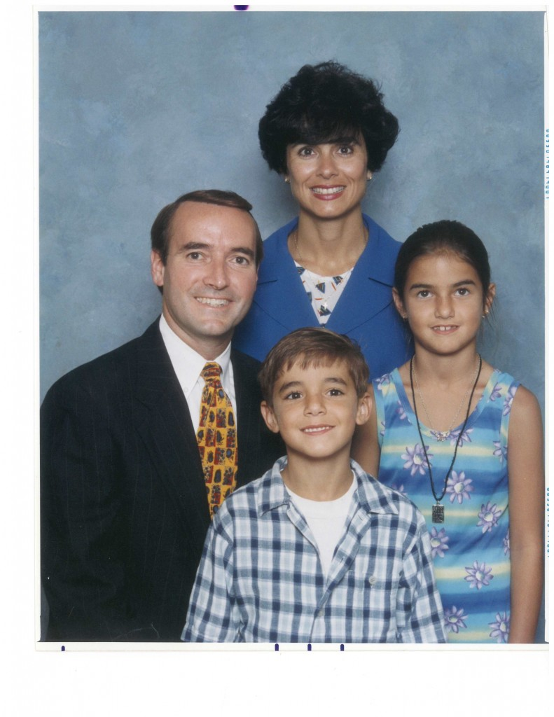 Talbot and family 1999