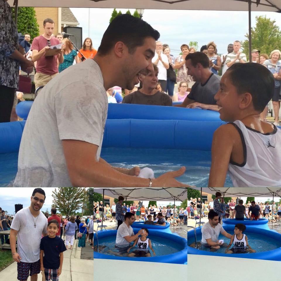 Latino Baptism