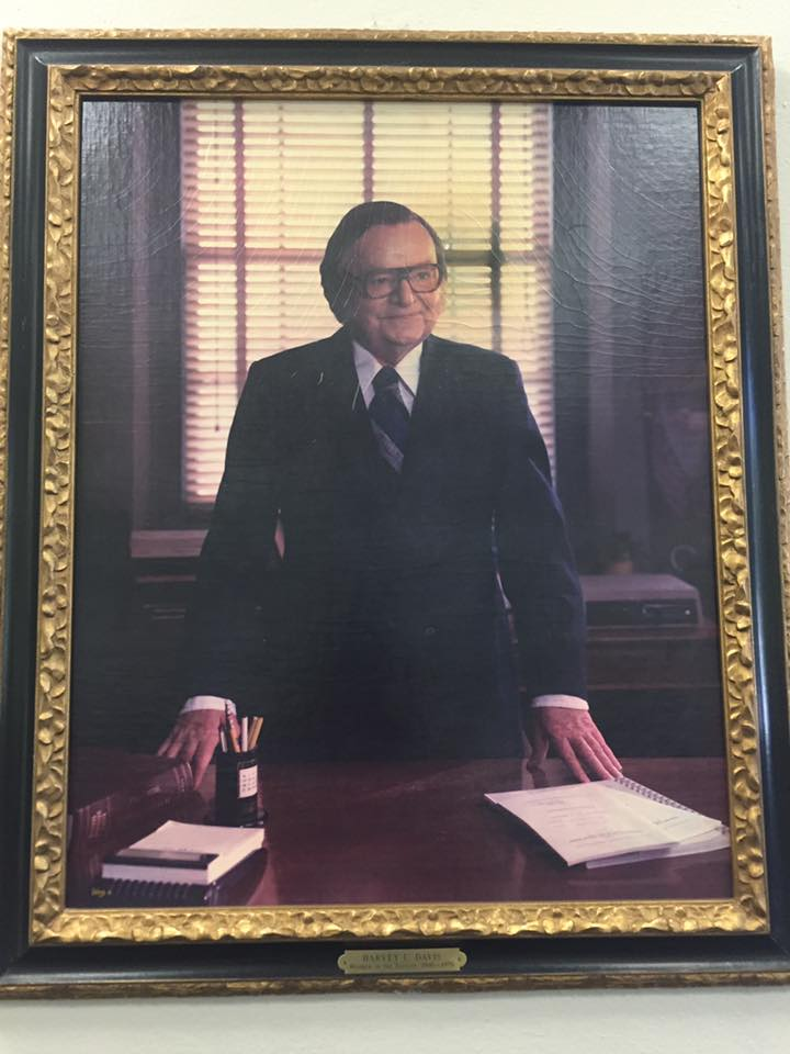Dad's SMU portrait